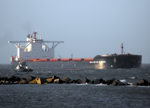 iron ore delivered to China